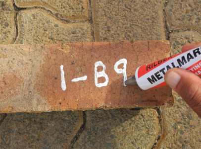 Permanent Markers for Bricks